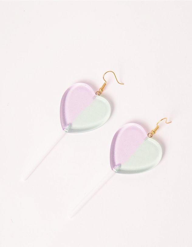 Сережки у вигляді сердець | 248128-37-XX - A-SHOP