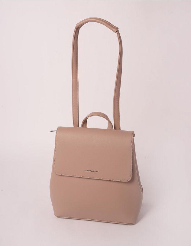 Рюкзак трансформер стильний з клапаном | 243802-22-XX - A-SHOP