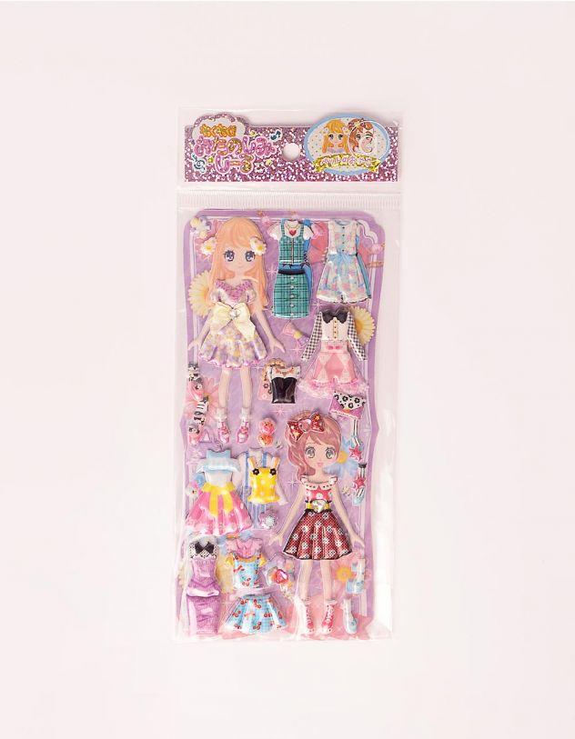 Наклейки з ляльками | 243443-03-XX - A-SHOP