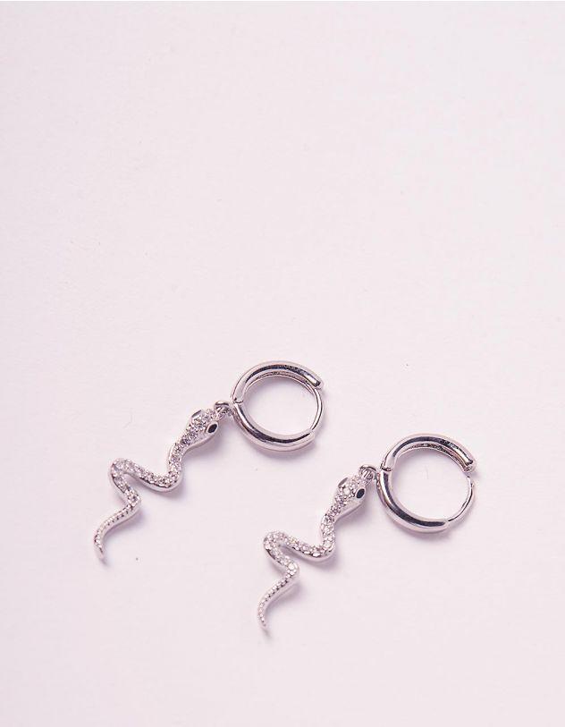 Сережки кільця зі зміями | 244679-06-XX - A-SHOP