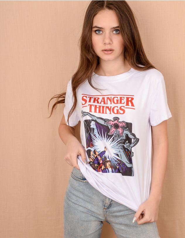 Футболка із зображенням Stranger things | 240724-01-21 - A-SHOP