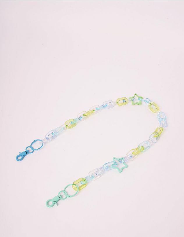 Ланцюжок для одягу з зірочками | 244246-18-XX - A-SHOP