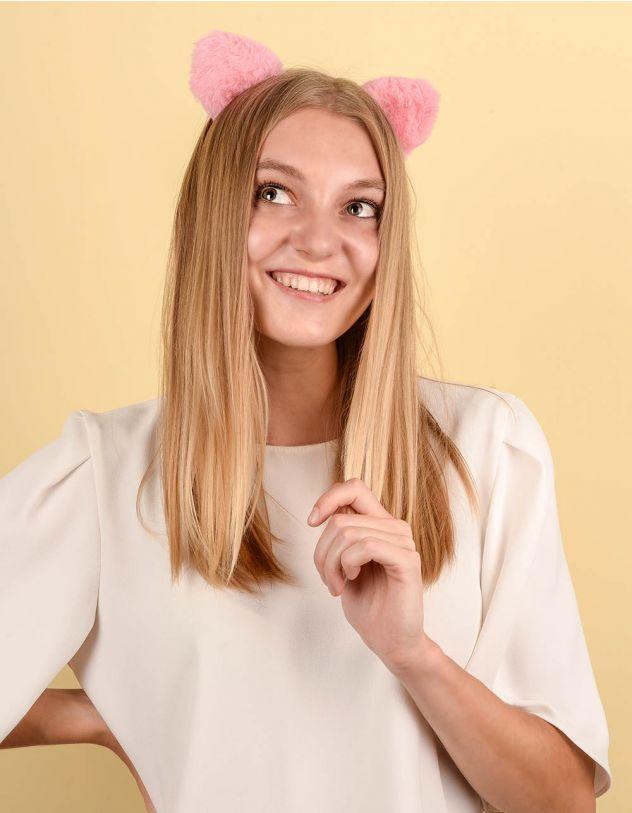 Обідок для волосся  з вушками | 237768-14-XX - A-SHOP