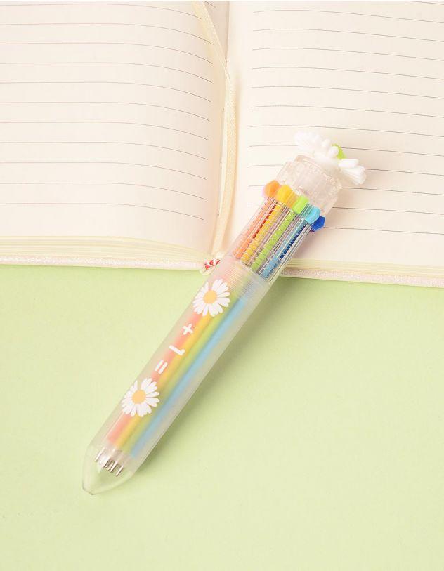 Ручка багатокольорова з ромашкою | 245800-20-XX - A-SHOP