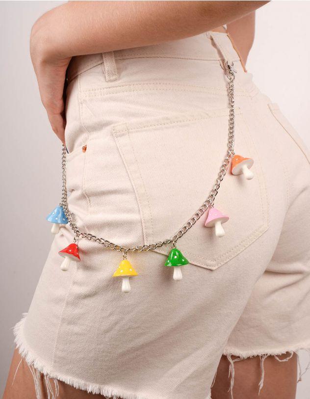 Ланцюжок на одяг з грибами | 247711-21-XX - A-SHOP