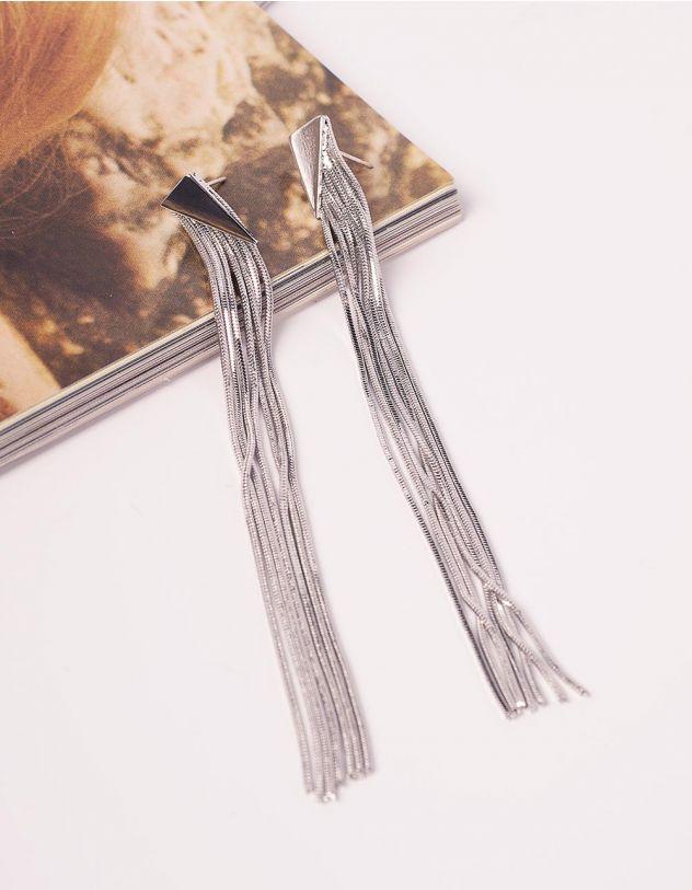 Сережки довгі з ланцюжків   240803-05-XX - A-SHOP
