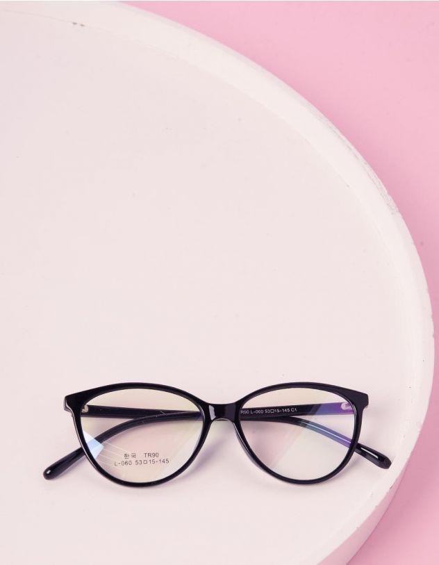 Окуляри лисенята з прозорими лінзами | 241391-02-XX - A-SHOP