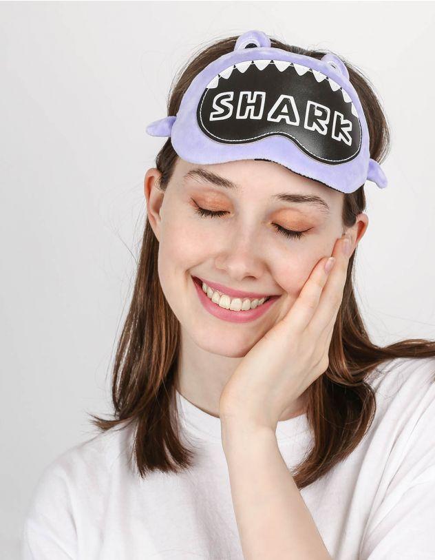 Пов'язка для сну з акулою   246433-03-XX - A-SHOP