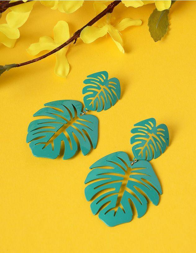 Сережки у вигляді листя | 234893-20-XX - A-SHOP