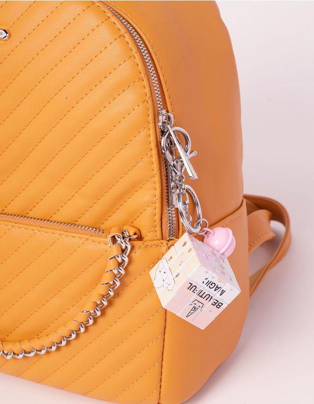 Брелок на сумку кубік рубіка з молодіжними малюнками   239183-50-XX - A-SHOP