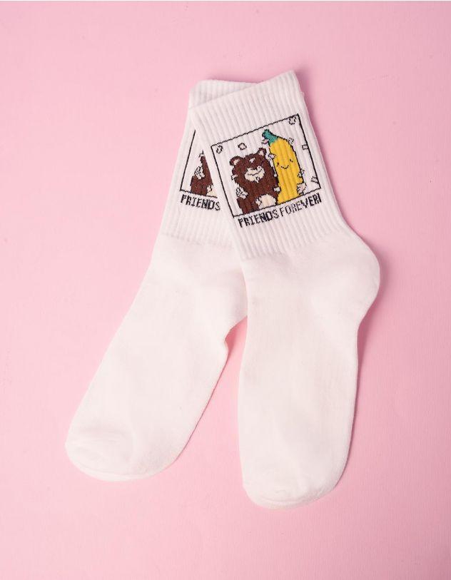 Шкарпетки з малюнком бананів | 240505-21-XX - A-SHOP