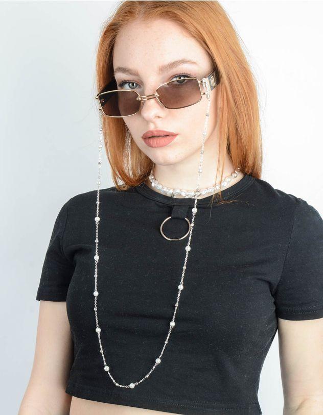 Ланцюжок для окулярів з перлинами та намистинами | 246707-06-XX - A-SHOP