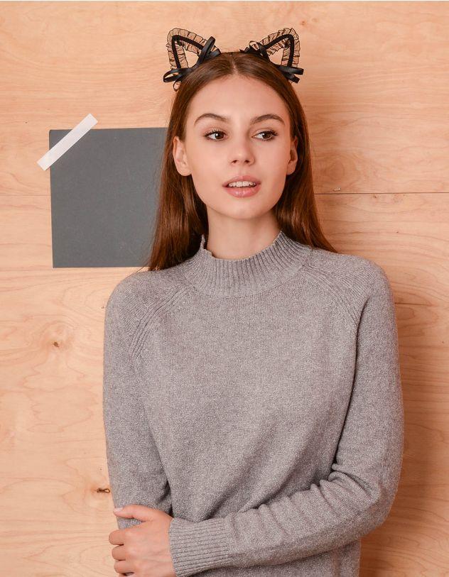 Обруч для волосся з мереживними вушками | 236845-02-XX - A-SHOP