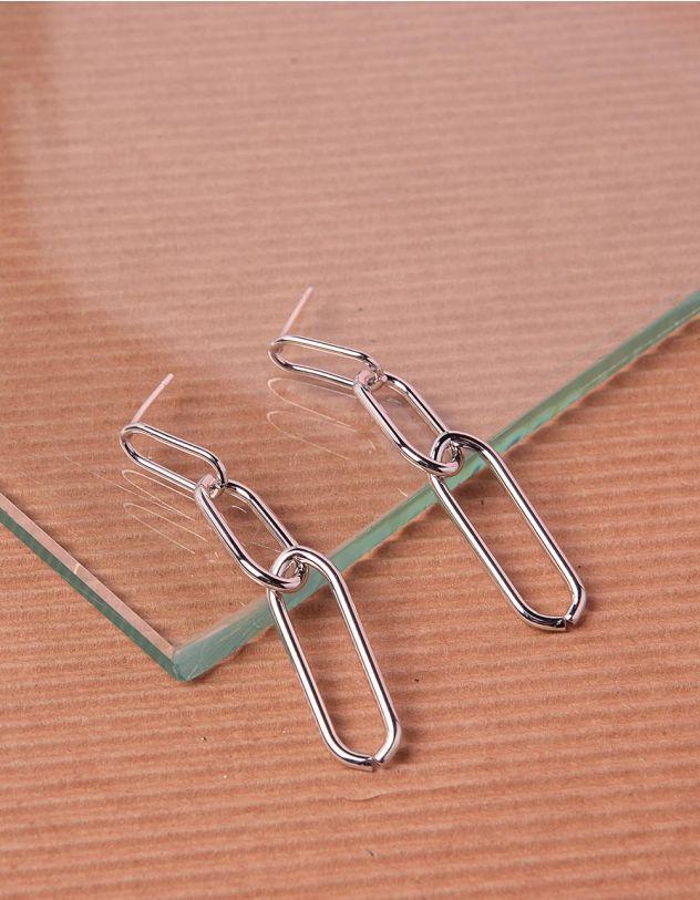 Сережки довгі у вигляді ланцюжка   240425-05-XX - A-SHOP