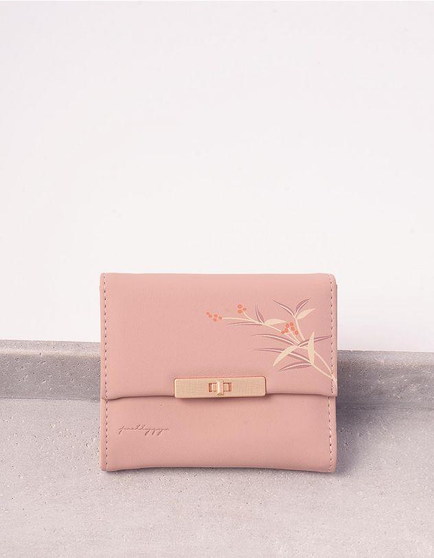 Гаманець портмоне жіночий з принтом ягідок | 244925-14-XX - A-SHOP