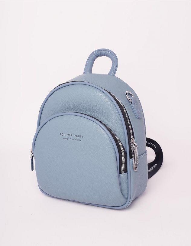 Рюкзак трансформер маленький з кишенею   238959-31-XX - A-SHOP
