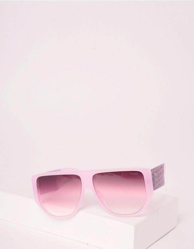 Окуляри сонцезахисні з орнаментом із літер на дужках | 246455-35-XX - A-SHOP