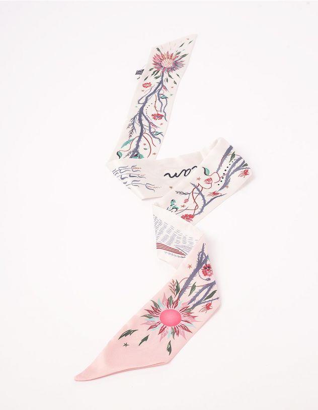 Твіллі з принтом квітів | 244098-40-XX - A-SHOP