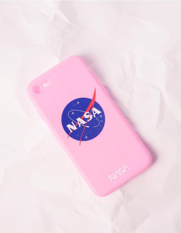 Чохол для телефону з написом NASA | 240756-14-56 - A-SHOP