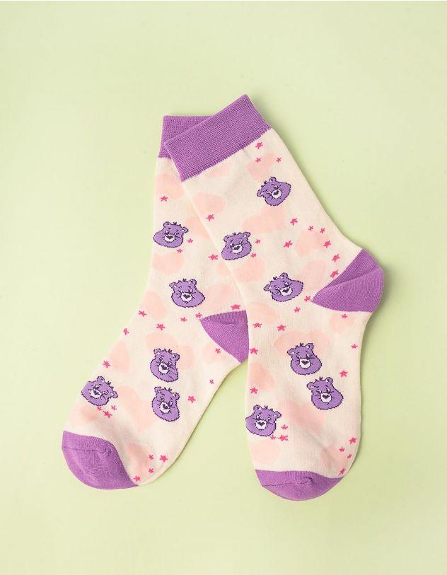 Шкарпетки з принтом ведмедиків | 245383-03-XX - A-SHOP