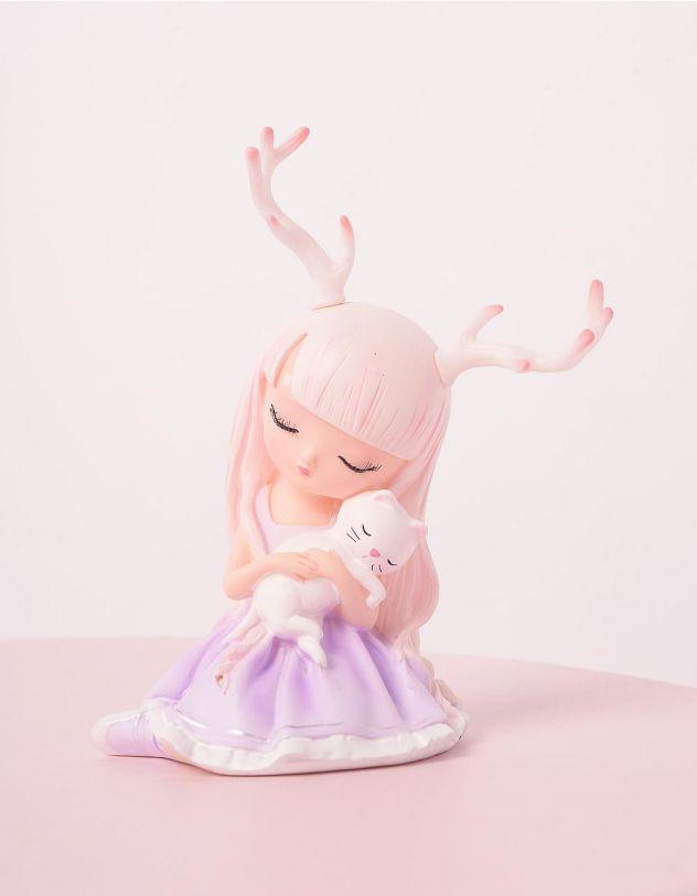 Статуетка у вигляді дівчинки з кицею | 244596-14-XX - A-SHOP