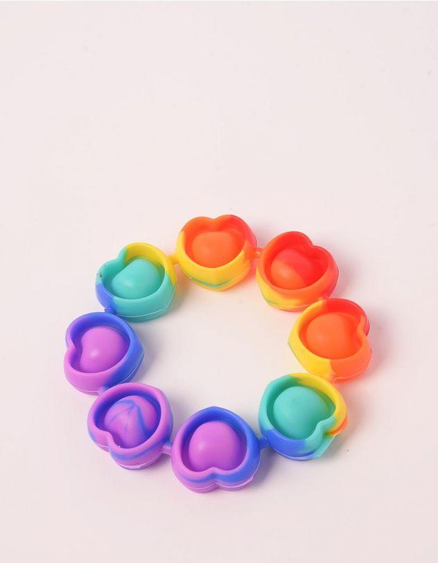 Іграшка антистрес pop it у вигляді сердець | 250074-21-XX - A-SHOP