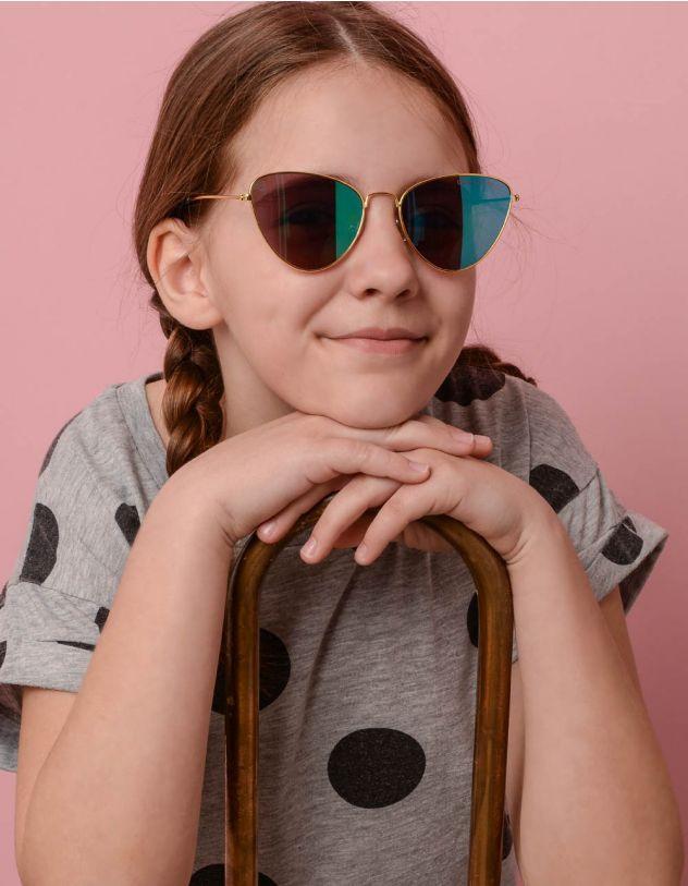 Окуляри дитячі сонцезахисні з тонкими дужками   236182-21-XX