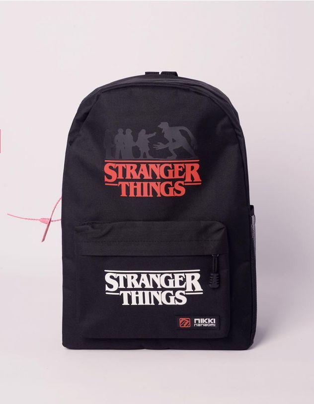 Рюкзак для міста з написом stranger things | 240476-02-XX