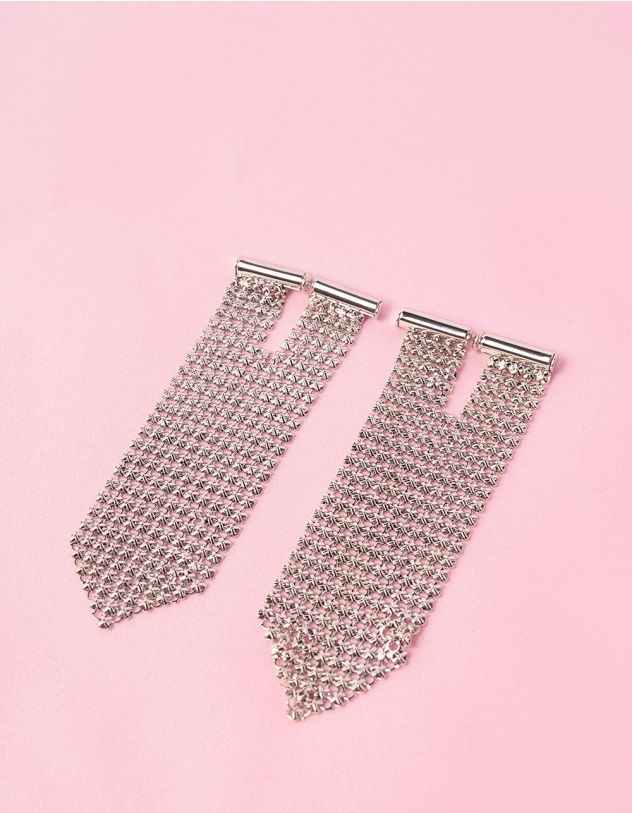 Сережки кольчуга | 249472-05-XX - A-SHOP