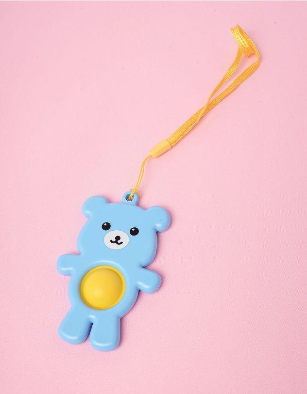 Іграшка антистрес pop it simple dimple у вигляді ведмедика | 249447-18-XX - A-SHOP