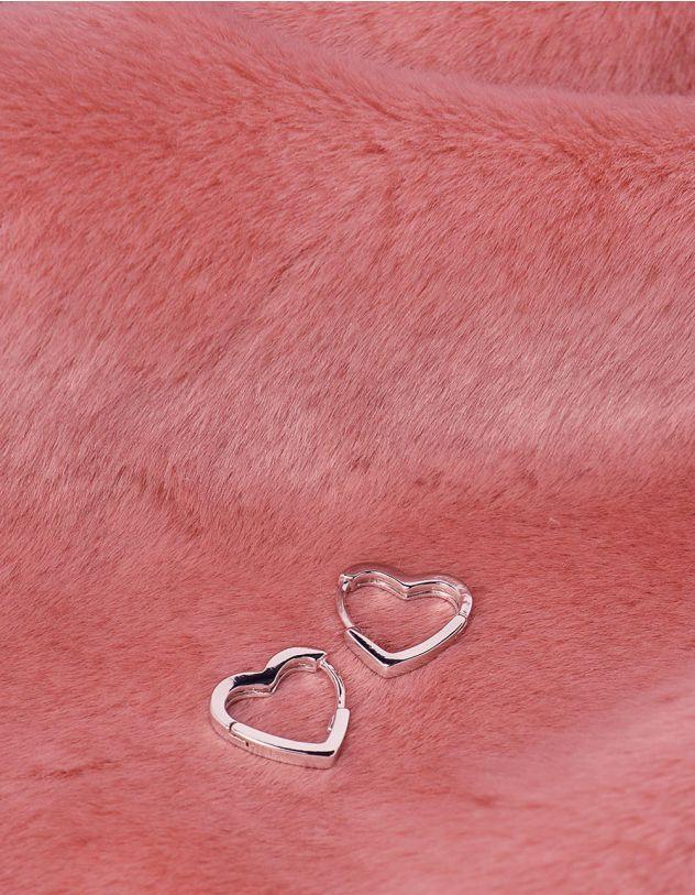 Сережки у вигляді сердець | 242845-05-XX - A-SHOP