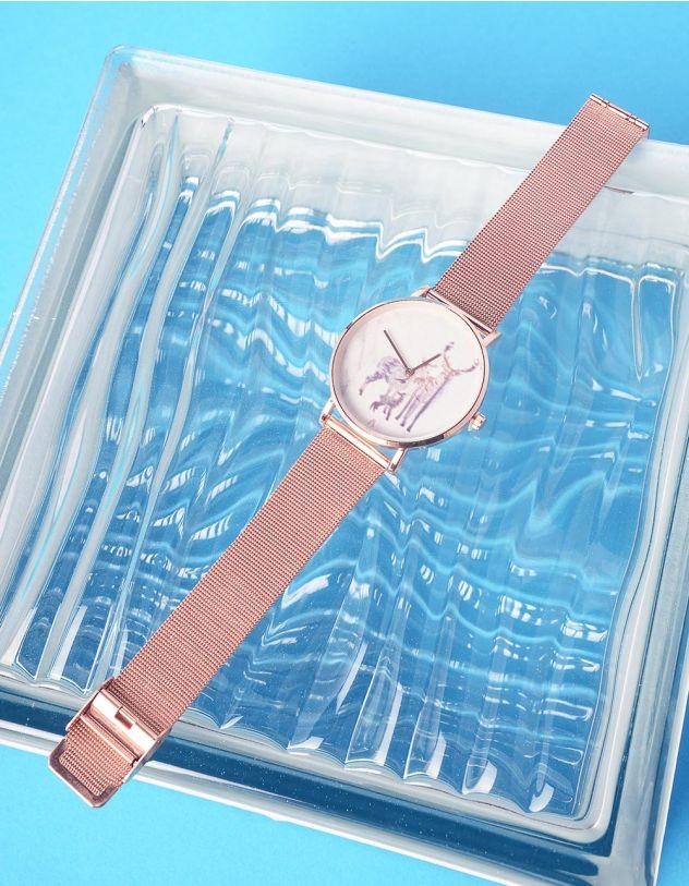 Годинник з малюнком оленя | 237218-69-XX - A-SHOP