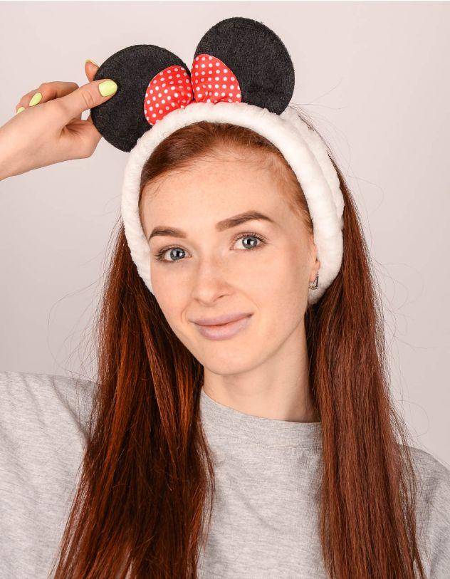 Пов'язка на голову косметична у вигляді Мінні Маус | 242162-01-XX - A-SHOP