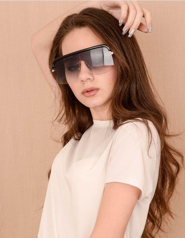 Окуляри маска від сонця з тонкими дужками | 240528-09-XX - A-SHOP