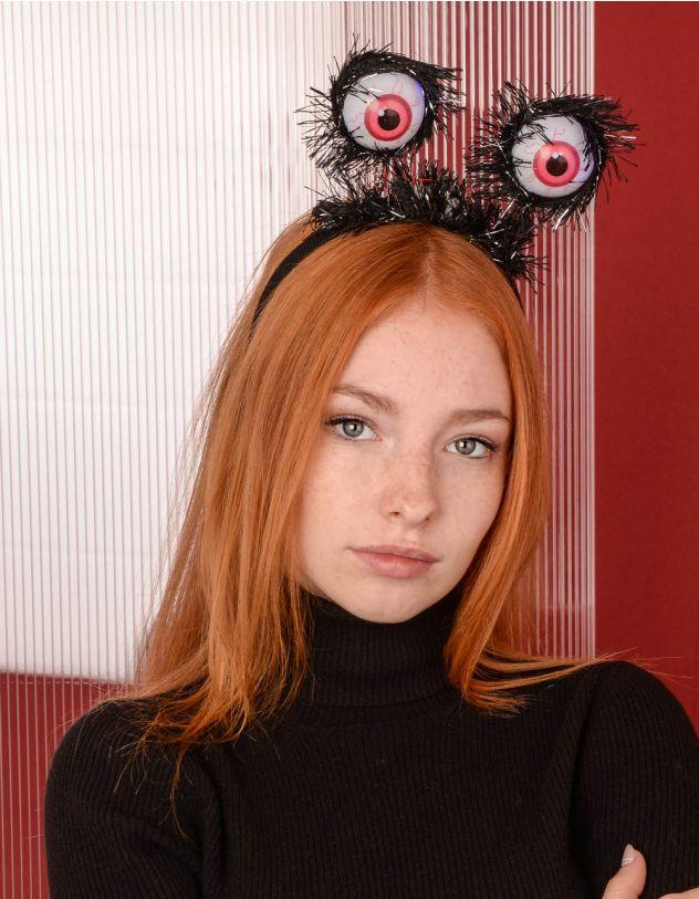 Обідок для волосся на хелоуін з очима, що світяться | 238929-02-XX - A-SHOP