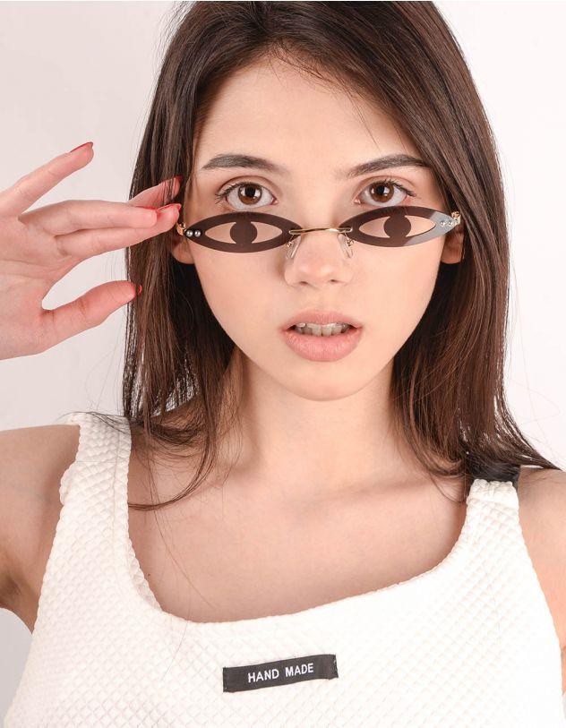 Окуляри у вигляді очей | 243636-09-XX - A-SHOP