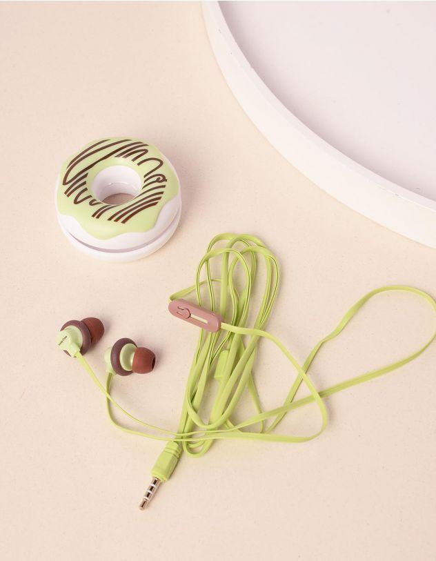 Навушники з чохлом у вигляді тістечка | 232184-20-XX - A-SHOP