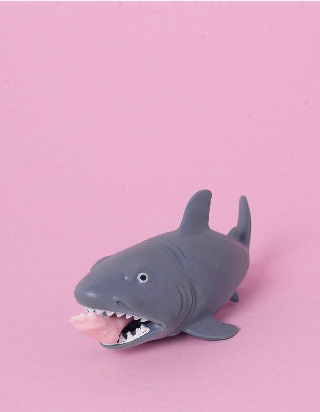 Сквіш антистрес у вигляді акули з ногою | 248065-11-XX - A-SHOP
