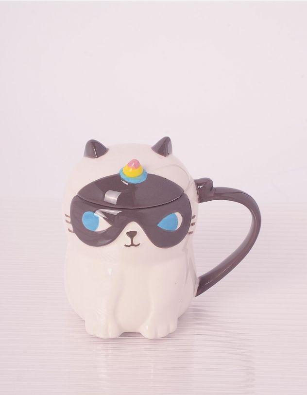 Чашка на 400мл у вигляді кицьки єдинорога | 243671-01-XX - A-SHOP