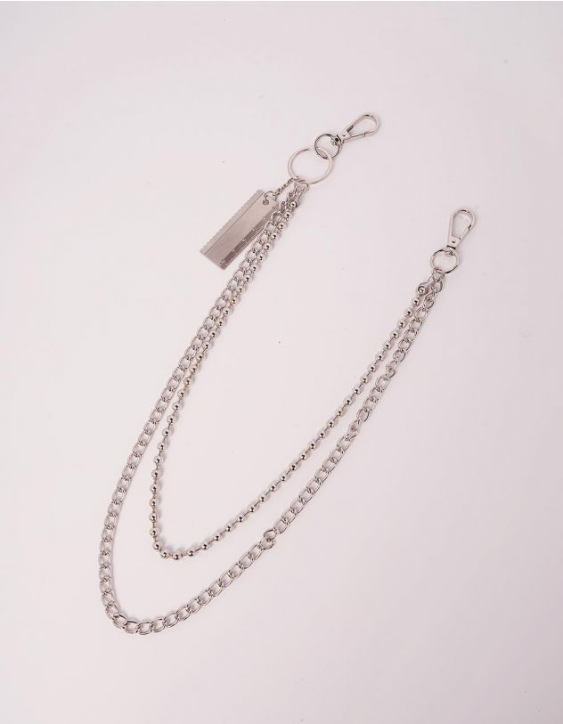 Ланцюжок для одягу подвійний | 244228-05-XX - A-SHOP