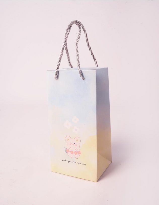 Пакет з малюнком мишенят | 240707-19-XX