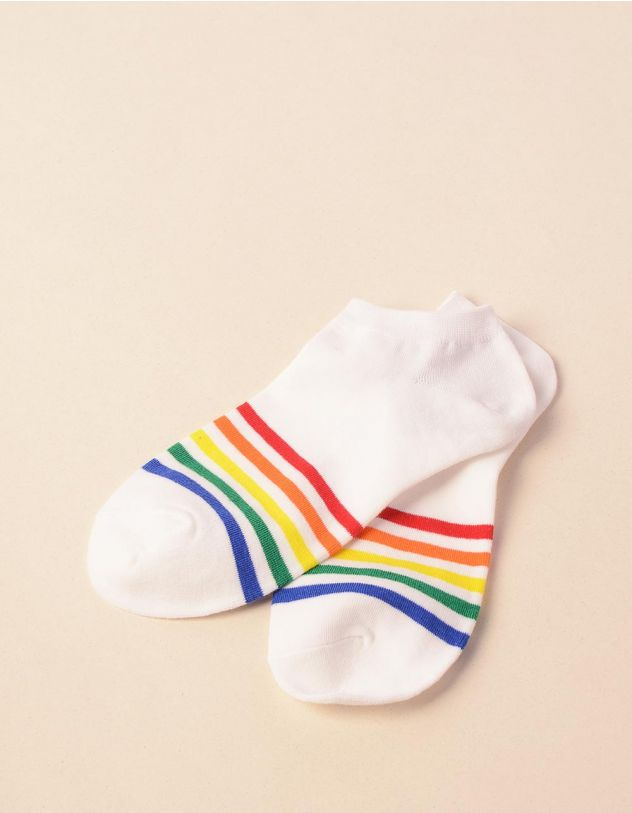 Шкарпетки смугасті | 241169-01-XX - A-SHOP