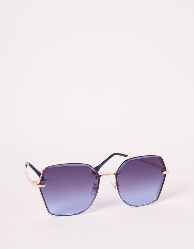 Окуляри сонцезахисні з тонкими дужками | 239618-56-XX - A-SHOP