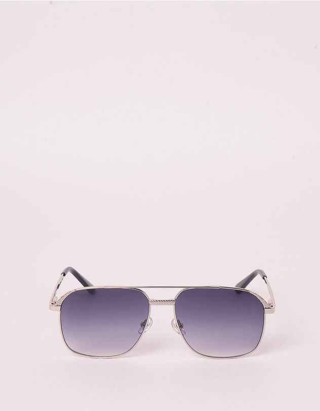 Окуляри сонцезахисні з тонкими дужками | 247947-28-XX - A-SHOP