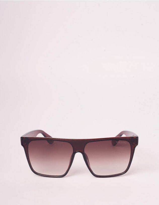 Окуляри сонцезахисні маска з градієнтними дужками | 246448-12-XX - A-SHOP