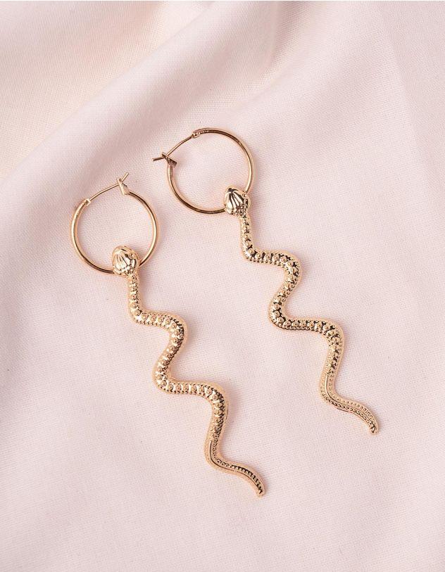 Сережки у вигляді змій | 246219-04-XX - A-SHOP