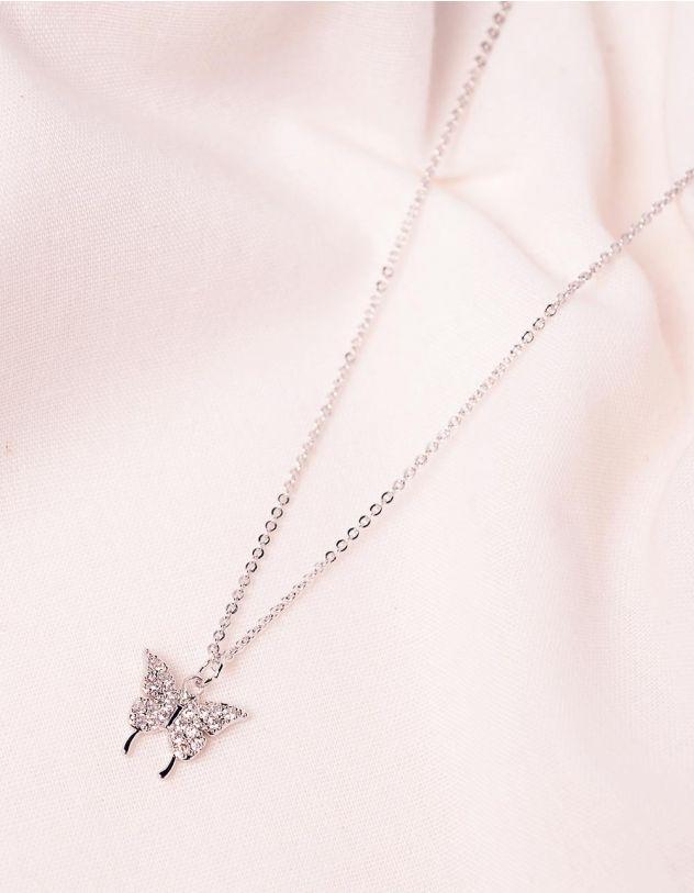 Підвіска на шию з кулоном у вигляді метелика   246521-06-XX - A-SHOP