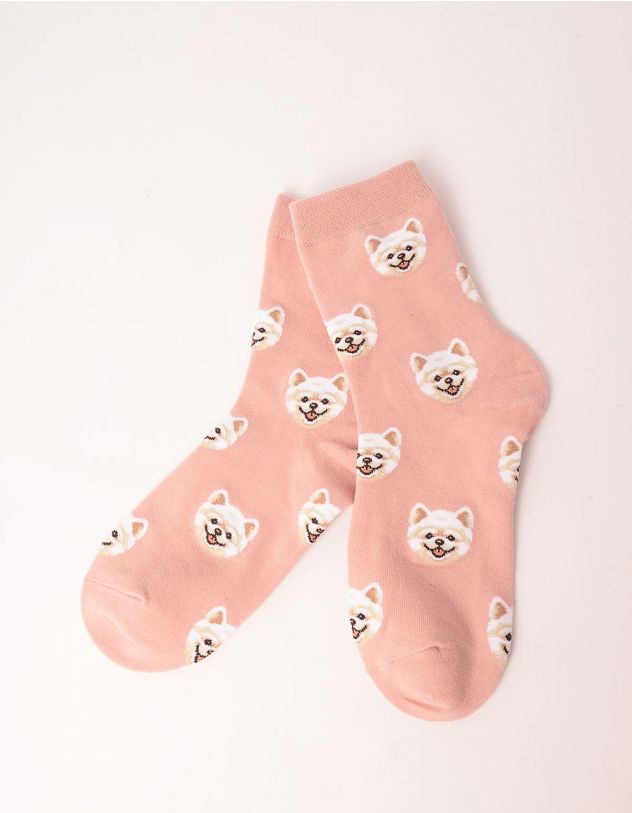 Шкарпетки із зображенням песика   249586-14-XX - A-SHOP