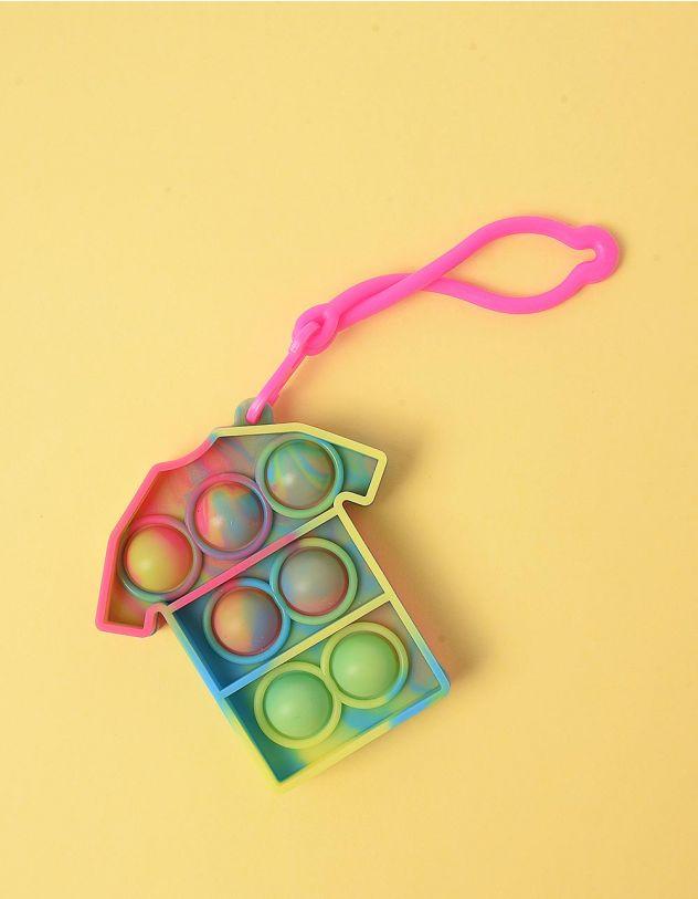 Іграшка антистрес pop it сімпл дімпл  брелок у вигляді футболки | 248605-21-XX - A-SHOP