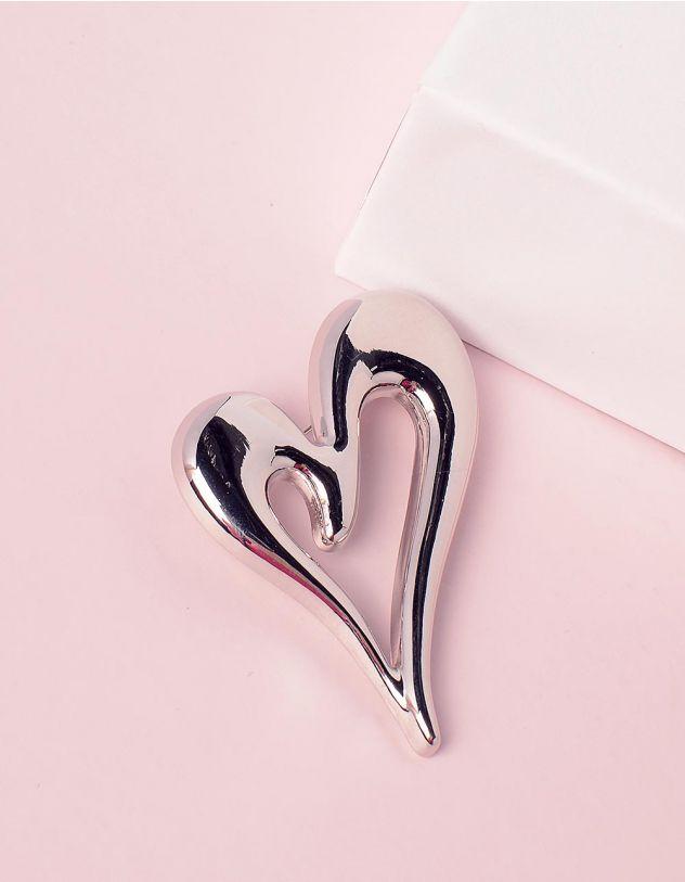 Брошка у вигляді серця | 245011-05-XX - A-SHOP